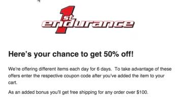 1st endurance